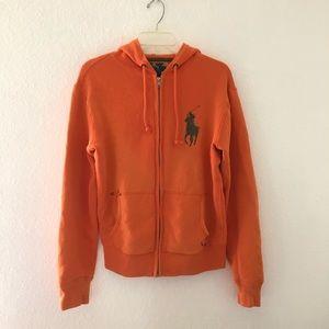 Ralph Lauren Men Sz:S Orange Jacket